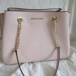 MICHAEL KORS TEAGEN LEATHER LG HANDBAG